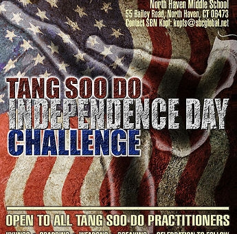 Tang Soo Do Independence Day Challenge Details